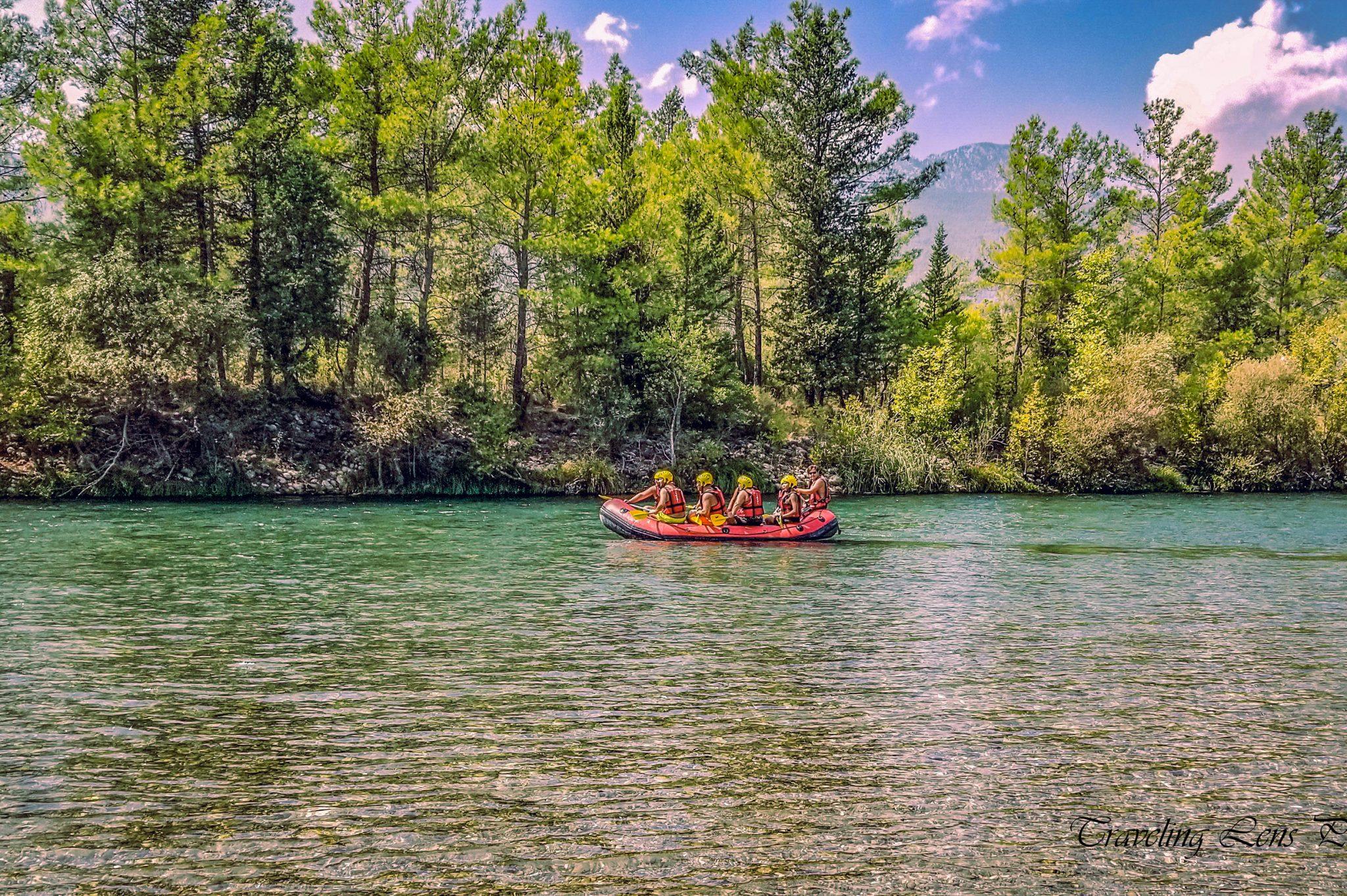 White Water Rafting Adventure: Köprülü Canyon