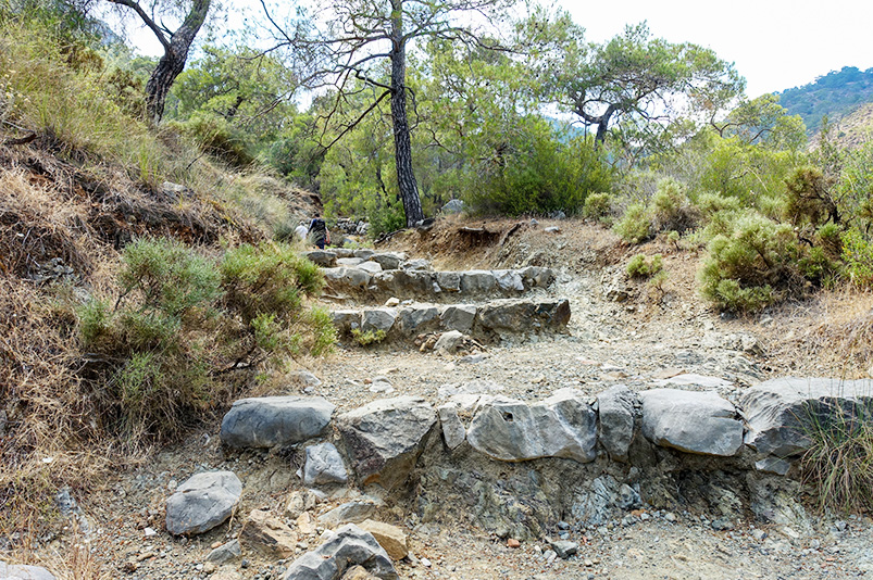 Hiking to the flames of Chimaera