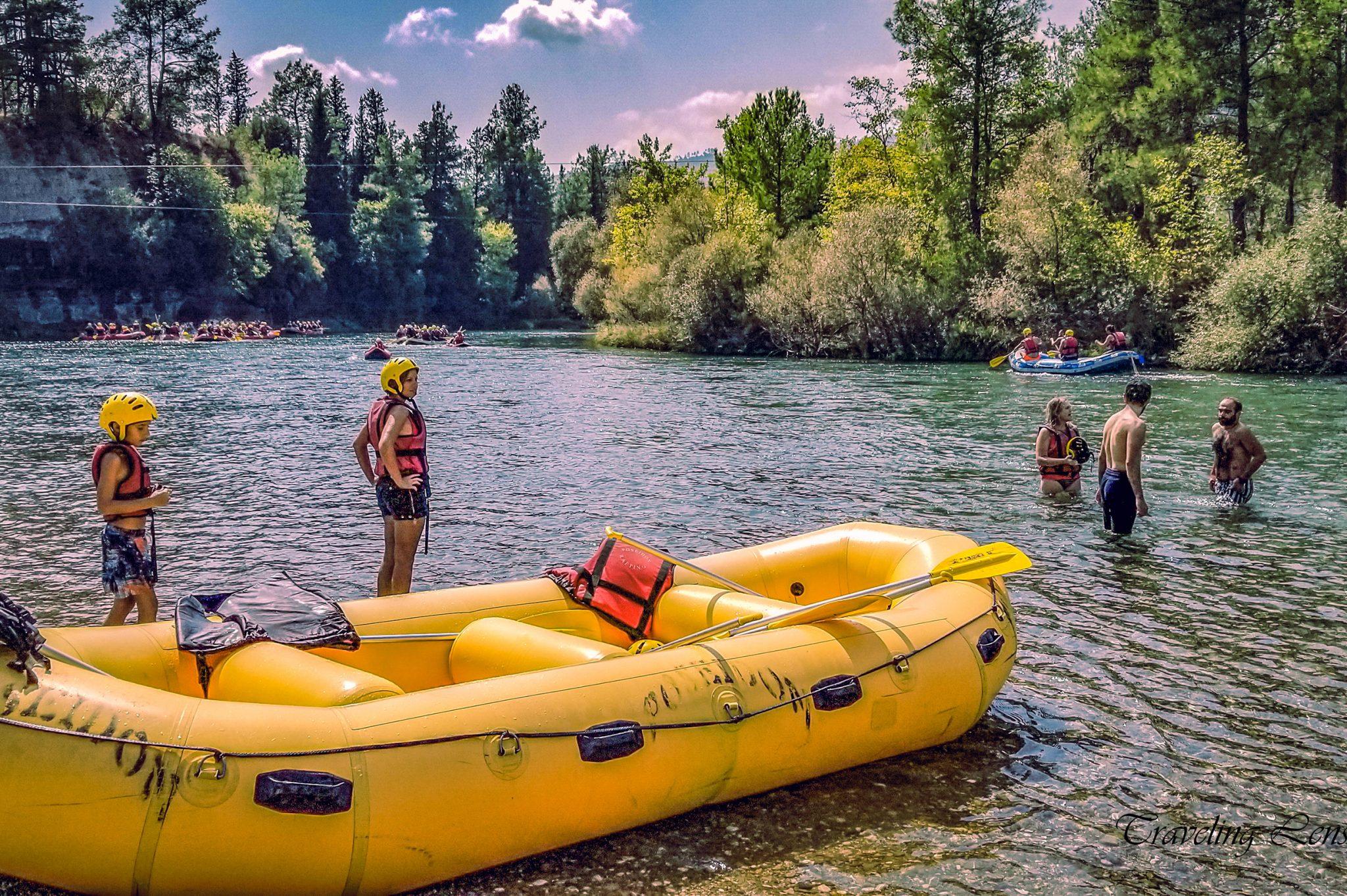 White Water Rafting Koprulu Canyon