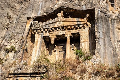 Amyntas Rock Tombs