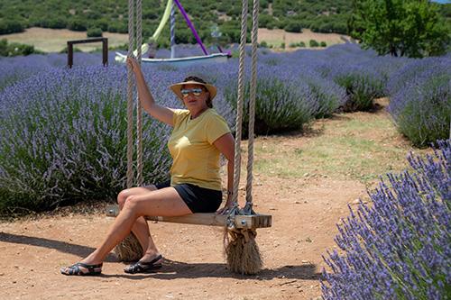Lanell on swing
