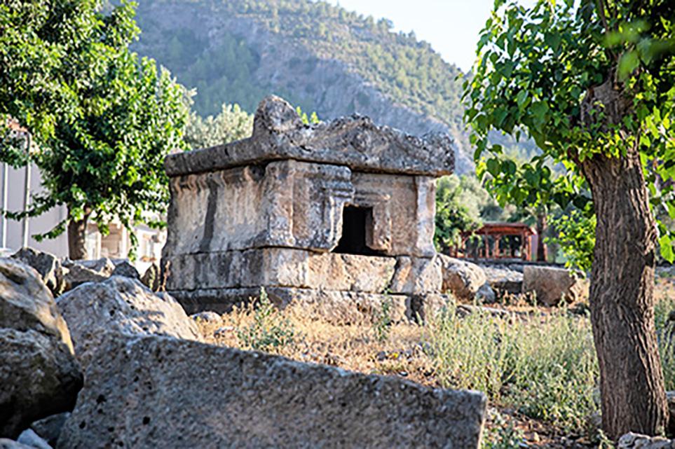 Sarcophagi Fethiye