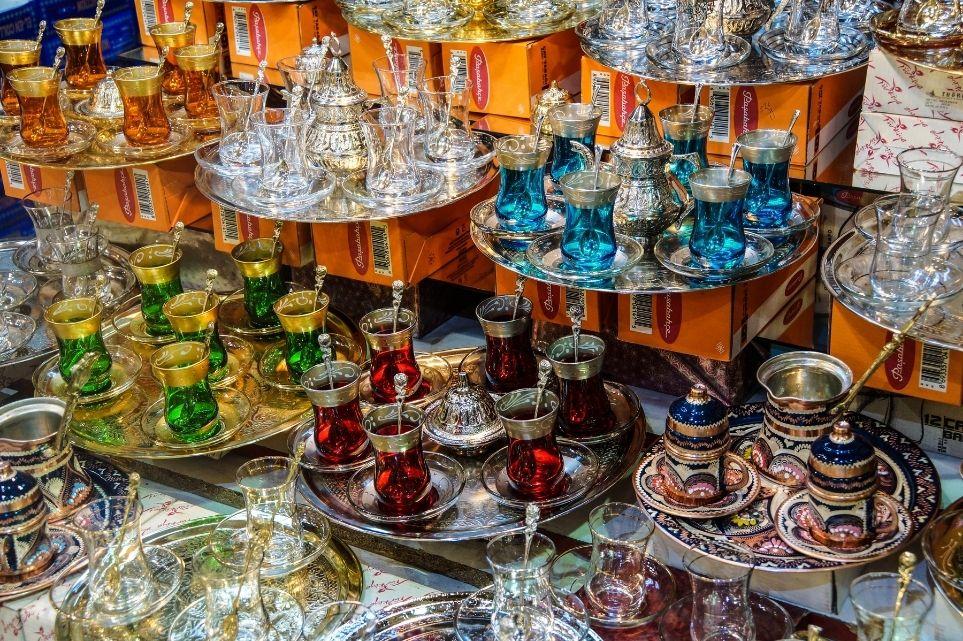 tulip tea glasses