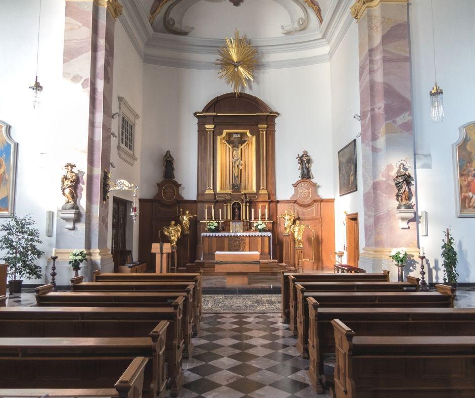interior traditional church