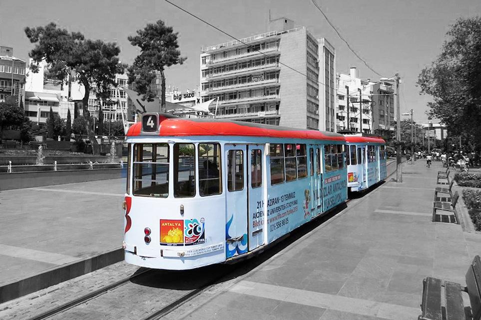 Antalya Nostalgic Trolley