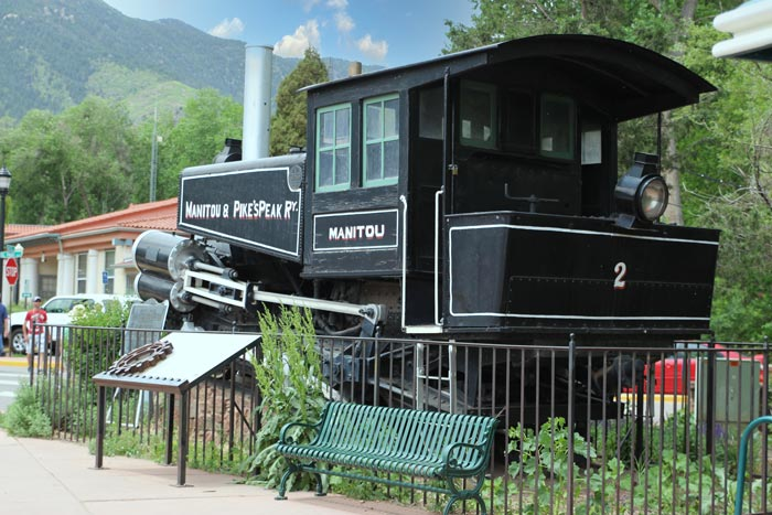 Manitou Springs Train