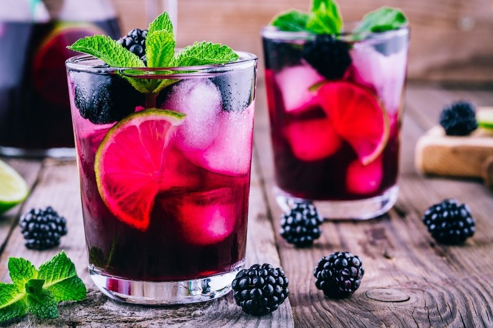 blackberry virigin mojito