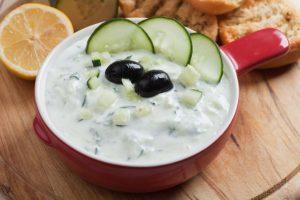 yogurt and cucmber