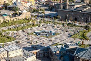 Erzurum Castle view