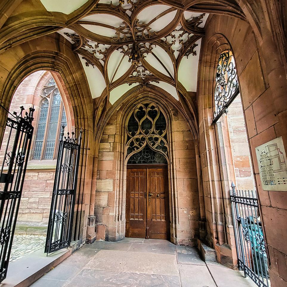 Inside Basel Cathedral