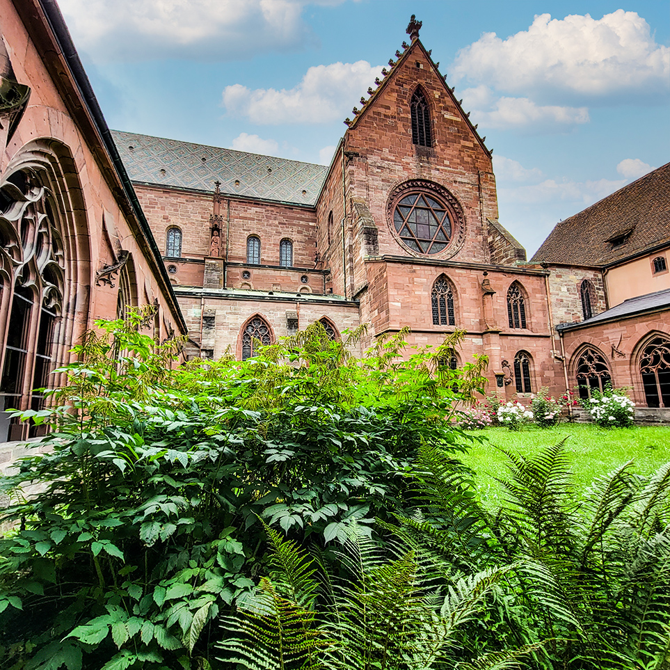 Cloister Basel Cathedral